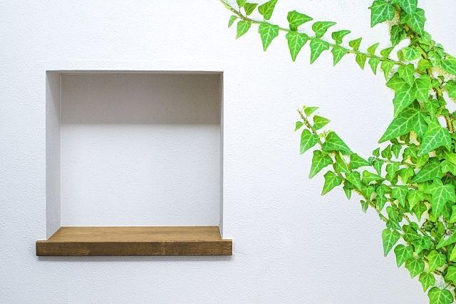 賃貸の空室対策にはお部屋にデッドスペースにニッチ棚を作ってみましょう