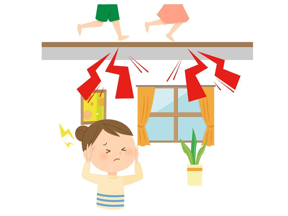 賃貸マンション・アパートでは上下のお部屋での騒音トラブルが多いです
