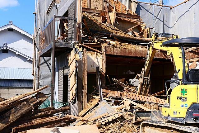 自分の建物を解体する時に、注意しなければいけない事は?