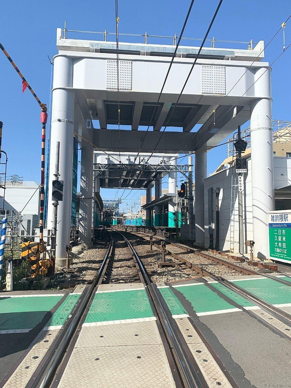 西鉄天神大牟田線の高架化が大幅に遅れそうです