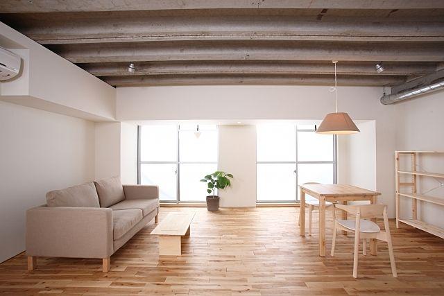 自分のお部屋を広く見せるには室内をスッキリしましょう