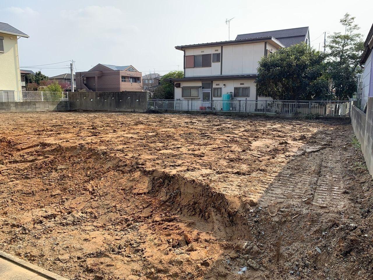 建物を解体した後の土地です
