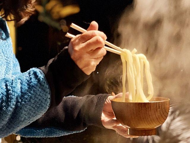 福岡・博多のうどんは「コシ」がないのが普通なんです