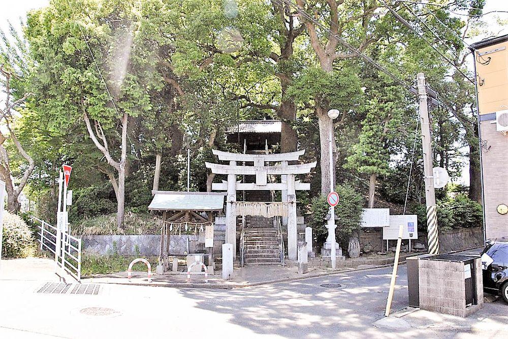 福岡市博多区にある那珂八幡古墳です