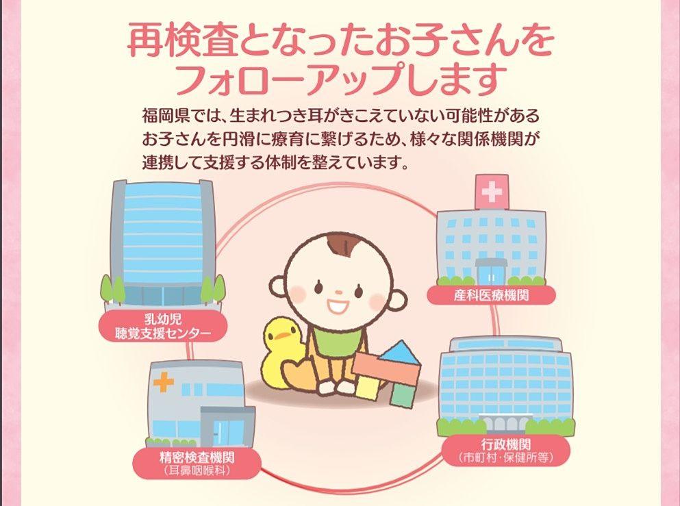 福岡県乳幼児聴覚支援センターの相談窓口の案内