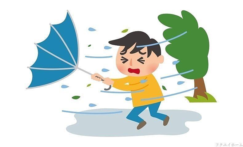 福岡県に台風17号が接近しています