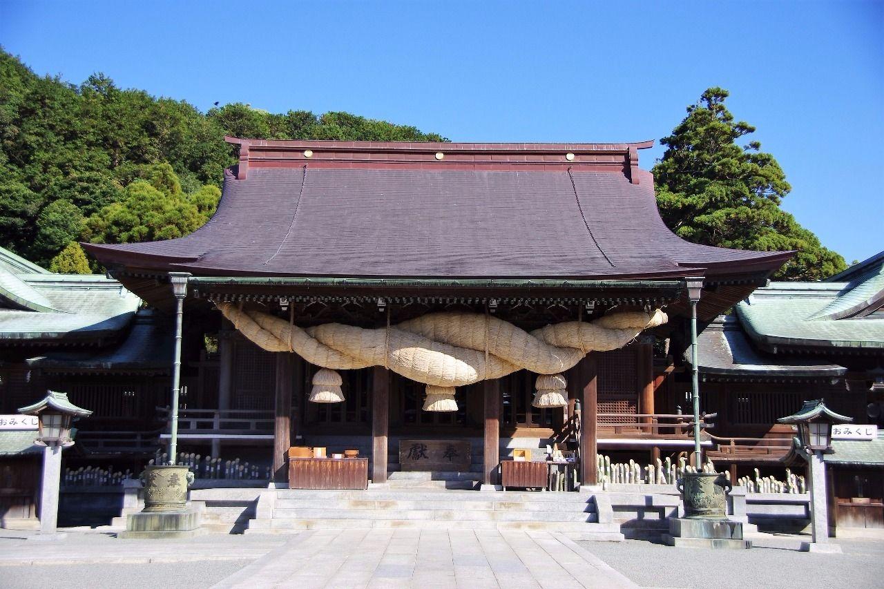福岡県 宮地嶽神社です