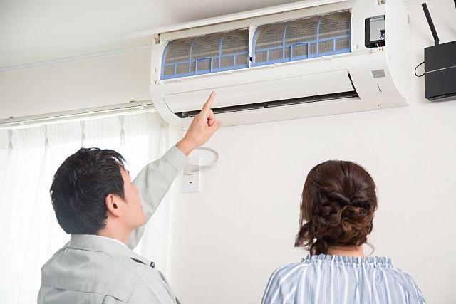 冷房を使い始めるとエアコンが故障する