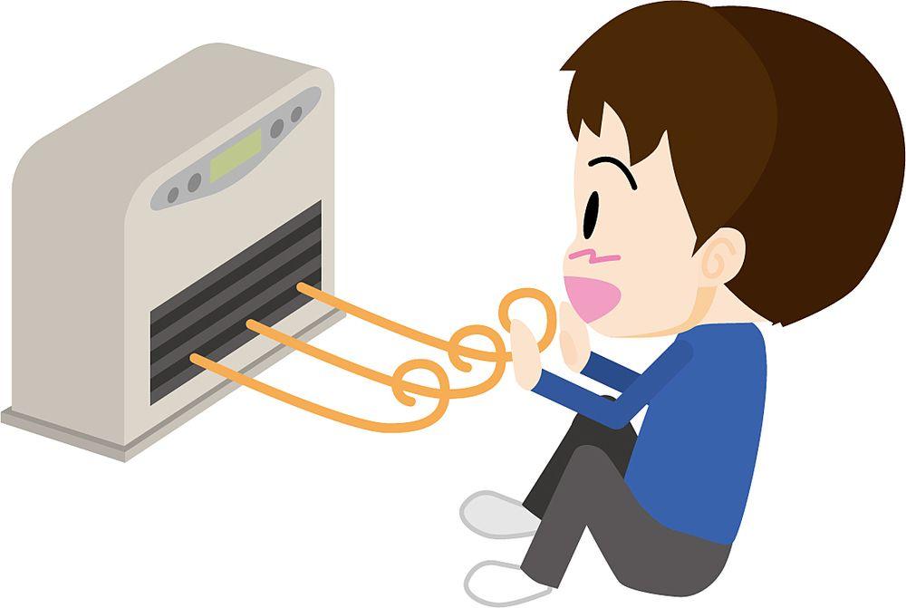 マンションで冬にガスファンヒーターを使用するときは結露に注意しましょう